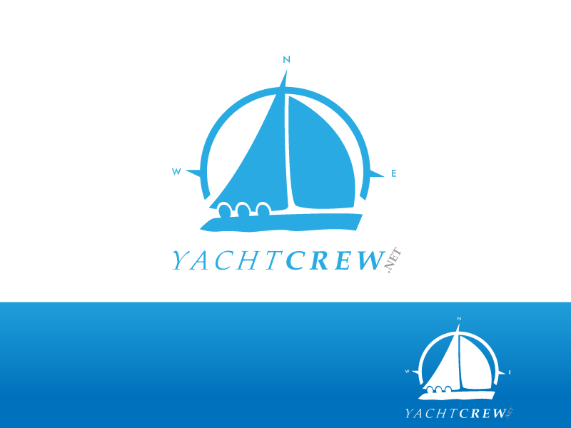YachtCrew logo contest entry