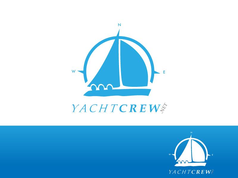 YachtCrew logo contest entry