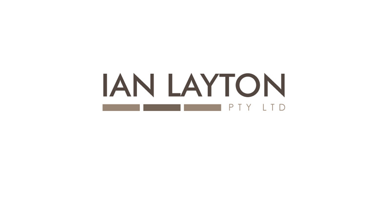 Ian layton logo & business card design