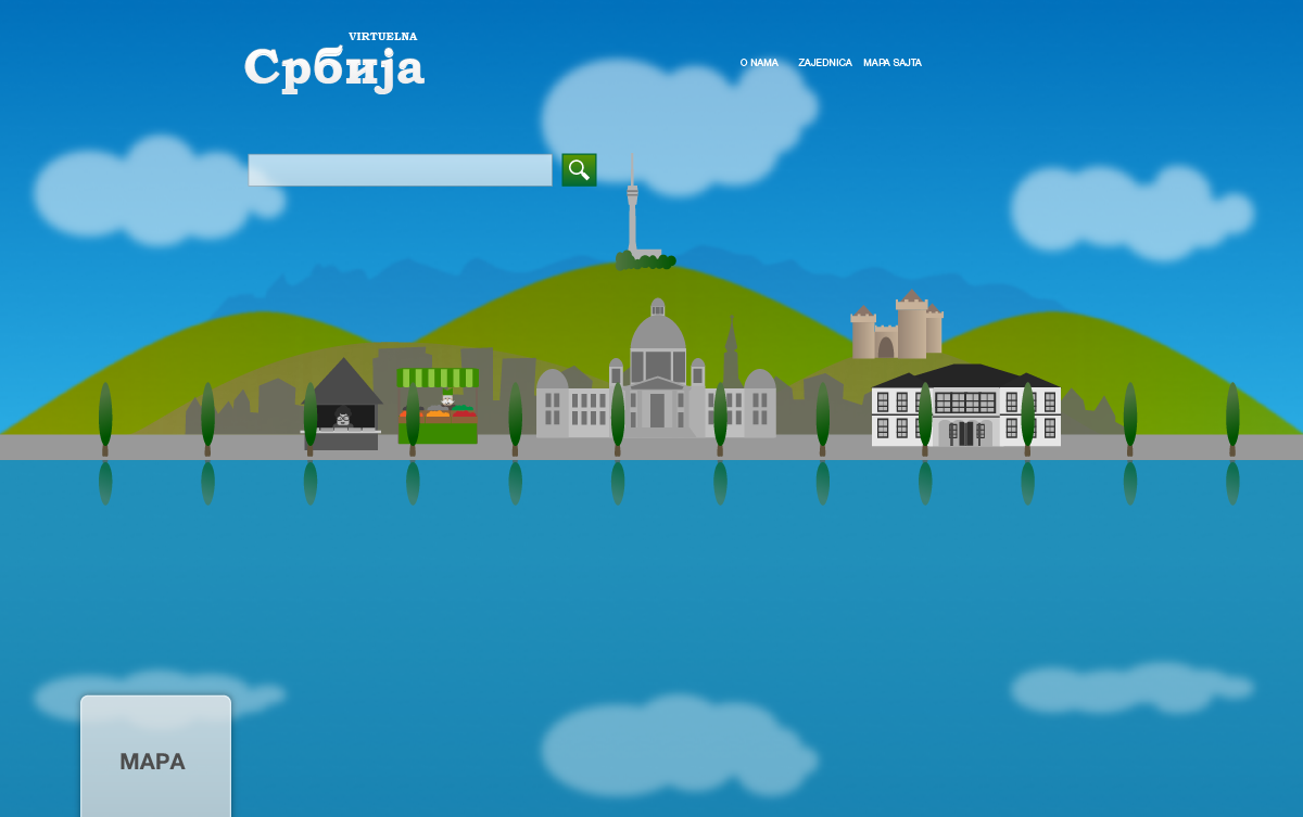 Virtuelna Srbija game concept