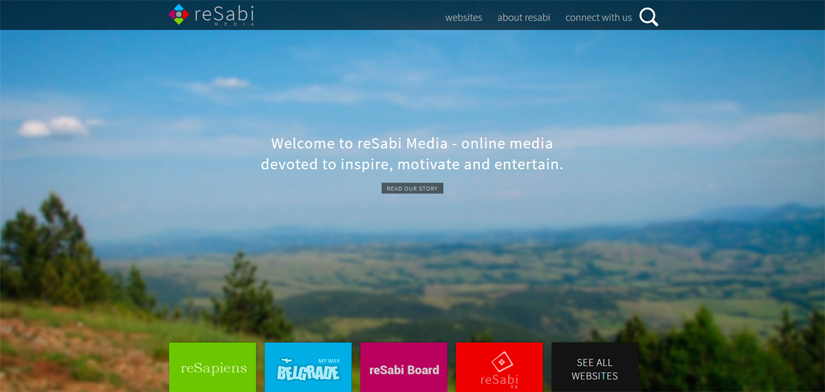 reSabi home page